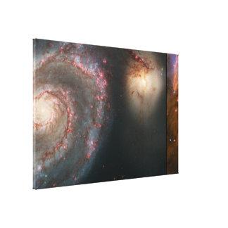 Afbeeldingen van het Jubileum van Hubble de 15de v Stretched Canvas Afdrukken