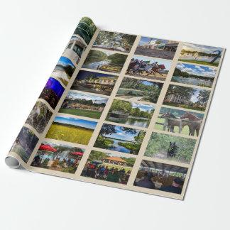 Afbeeldingen van Ocala met tan achtergrond Cadeaupapier