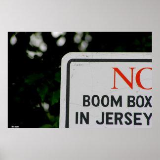 """Affiche """"Geen Vakje van de Boom in Jersey """" Poster"""