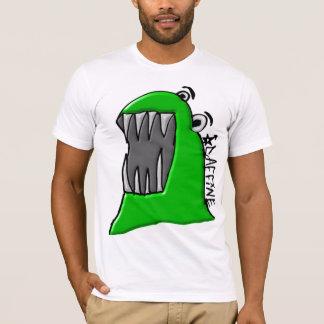 Afgeschuinde het Monster van Caffine T Shirt