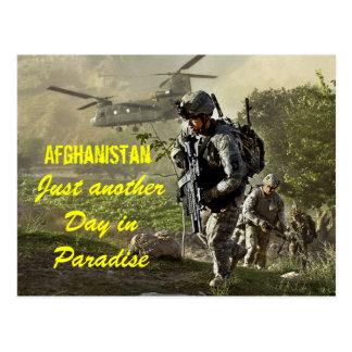 Afghanistan enkel een andere dag in briefkaart