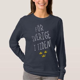 AFör Sverige i het Zweedse Overhemd van het T Shirt