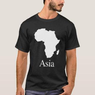 Afrika Azië (voor Donkerdere kleurenoverhemden) T Shirt