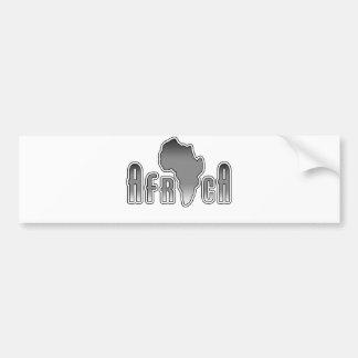 Afrika Bumpersticker