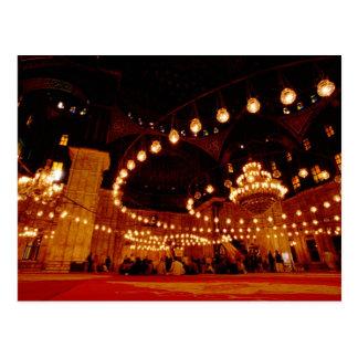 Afrika, Egypte, Kaïro, Muhammad Ali Mosque, Briefkaart
