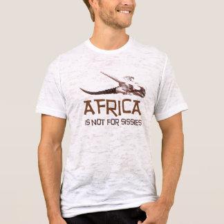 Afrika is niet voor lafaards: De Afrikaanse T Shirt