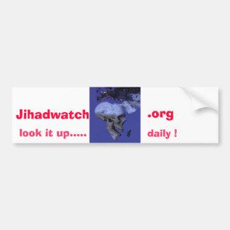 Afrika, Jihadwatch, .org, kijkt het omhoog .....,  Bumpersticker