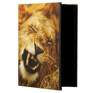 Afrika, Kenia, Maasai Mara. Mannelijke leeuw. Wild iPad Air Hoesje