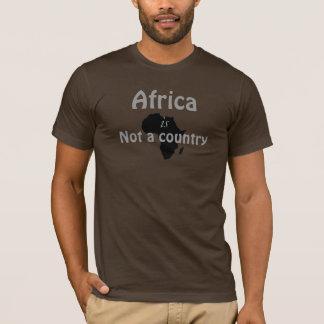 Afrika, niet een land t shirt