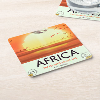 Afrika Vierkante Onderzetter