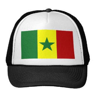Afrika: Vlag van Senegal Trucker Petten