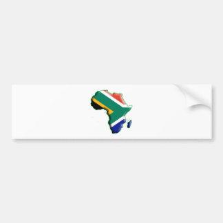 AFRIKA: ZUID-AFRIKA BUMPERSTICKER