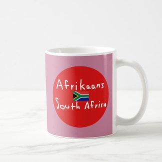 Afrikaans de Taal en de Vlag van Zuid-Afrika Koffiemok