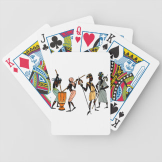 Afrikaans Etnisch Inheems stammenontwerp Poker Kaarten