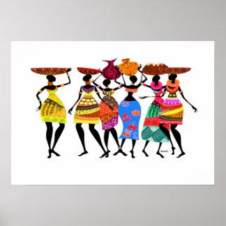 Afrikaans Feest Poster
