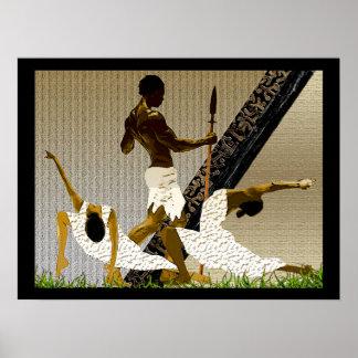 Afrikaans het Koppelen Ritueel Poster