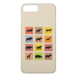 Afrikaans iPhonehoesje van Dieren iPhone 7 Plus Hoesje