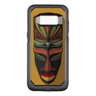 Afrikaans Kleurrijk Masker OtterBox Commuter Samsung Galaxy S8 Hoesje