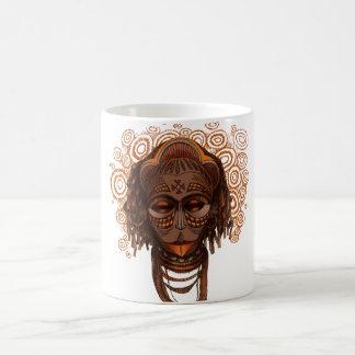 Afrikaans masker koffiemok
