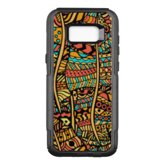 Afrikaans Patroon OtterBox Commuter Samsung Galaxy S8+ Hoesje