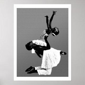 Afrikaanse Amerikaanse Dans Poster