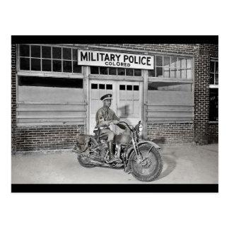 Afrikaanse Amerikaanse Militaire politie Briefkaart
