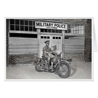 Afrikaanse Amerikaanse Militaire politie Kaart