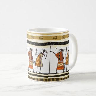Afrikaanse Grafische, StammenJagers Koffiemok