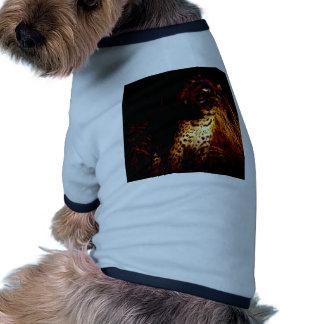 """""""Afrikaanse Koningin van de Nacht"""" producten T-shirt Voor Honden"""