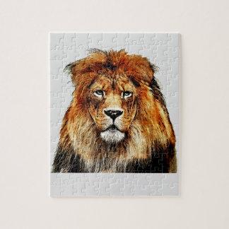 Afrikaanse Leeuw Legpuzzel