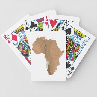 Afrikaanse Olifant Bicycle Speelkaarten