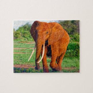 Afrikaanse Olifant Puzzel