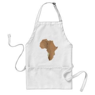Afrikaanse Olifant Standaard Schort