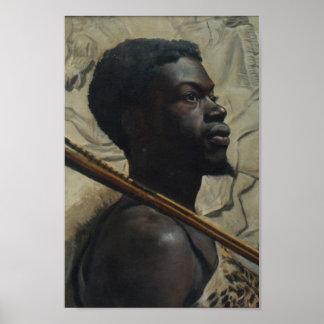 Afrikaanse Strijder door Walter Scott Boyd Poster