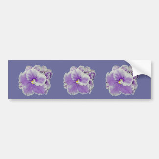 Afrikaanse Violette Paarse Giften Bumpersticker