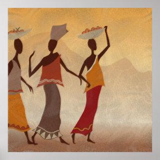 Afrikaanse Vrouwen Poster