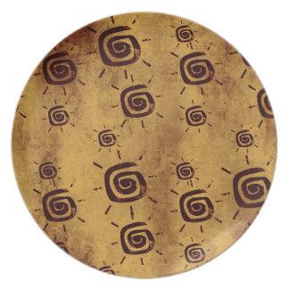 Afrikaanse Zon Melamine+bord