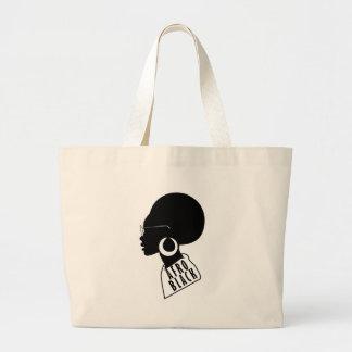 AFRO Afrikaanse Amerikaanse Zwarte giftt-shirt Grote Draagtas