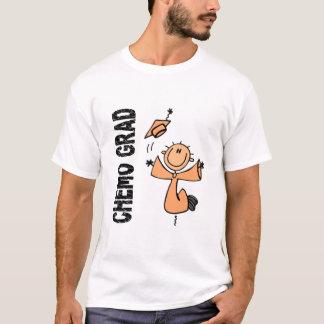 AFSTUDEERDER 1 van de perzik CHEMO T Shirt