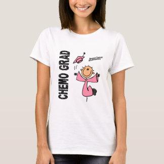 AFSTUDEERDER 1 van Kanker CHEMO van de borst T Shirt