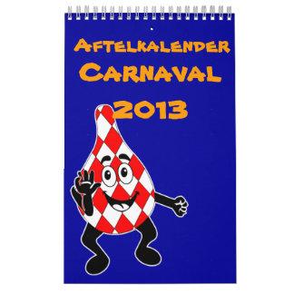 Aftelkalender carnaval 2013 kalender