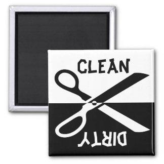 Afwasmachine Vierkante Magneet