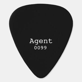 Agent 0099 de Oogsten van de Gitaar Plectrum
