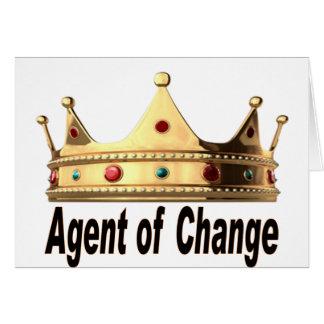 Agent van Verandering Wenskaart