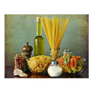 aglio, olioe peperoncino (knoflook, olie en briefkaart