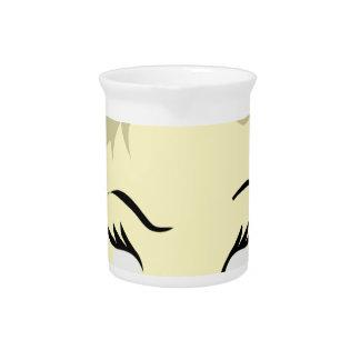 agressieve babyemoji - drink pitcher