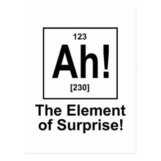 Ah! Het element van Verrassing Briefkaart