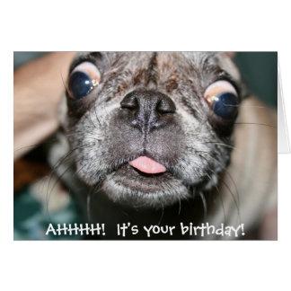 AHHHH!  Het is uw verjaardag! De Kaart van de
