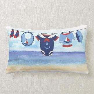 Ahoy het is een Hoofdkussen van het Baby shower Lumbar Kussen