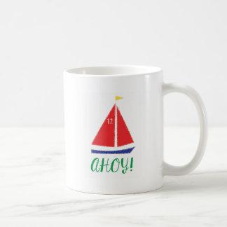 Ahoy! Het ontwerp van de zeilboot Koffiemok